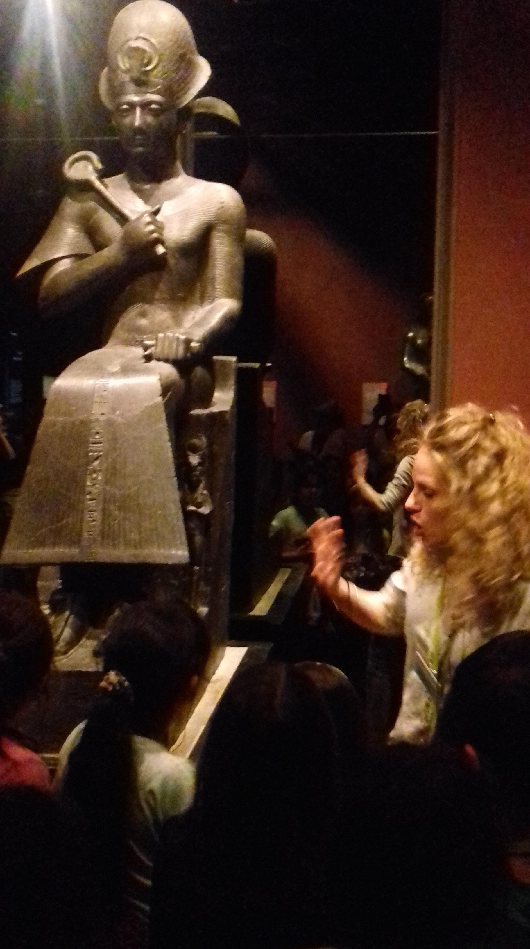 classi terze al museo egizio